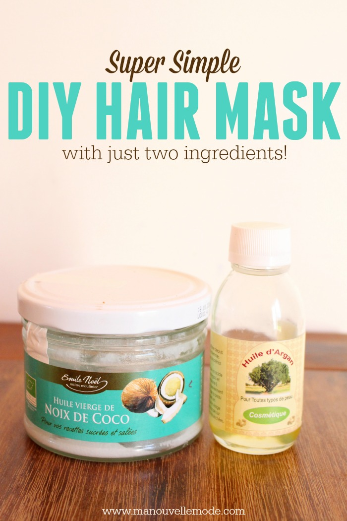 2 ingredient hair mask
