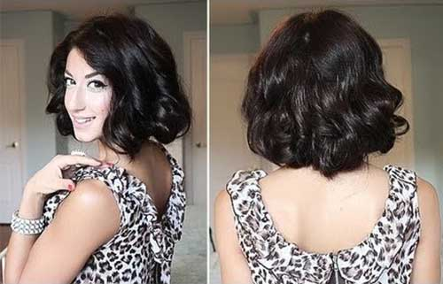 Simply Long Curly Bob Cuts Hair
