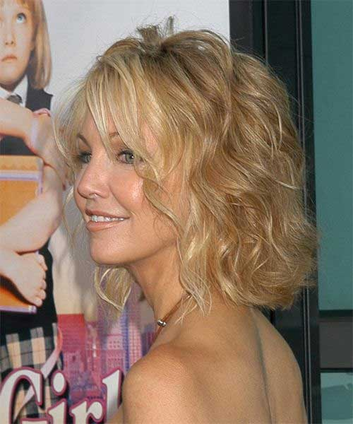 Heather Locklear Beachy Wavy Hair