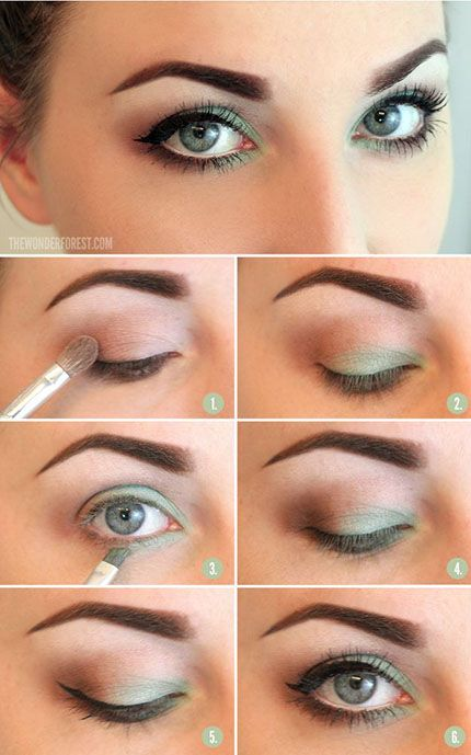 Light Green Eye Makeup