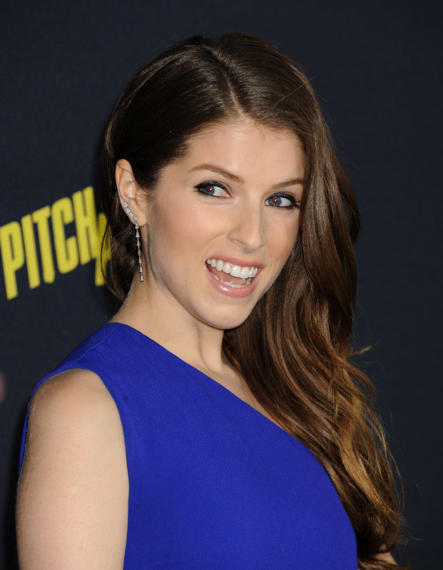 Anna Kendrick at the 2015 premiere of 'Pitch Perfect 2'.