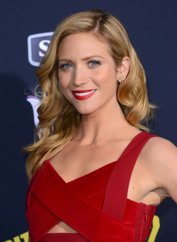 Brittany Snow at the 2015 premiere of 'Pitch Perfect 2'.