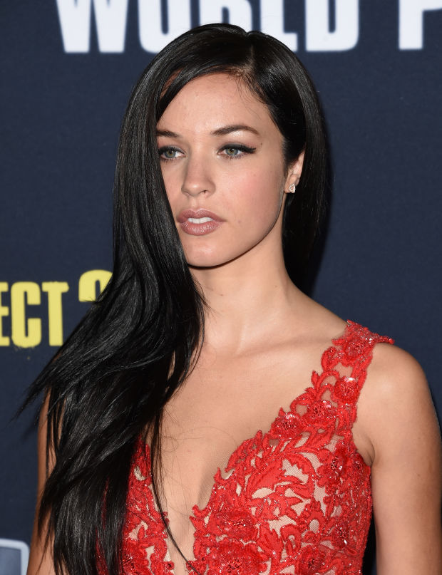 Alexis Knapp at the 2015 premiere of 'Pitch Perfect 2'.