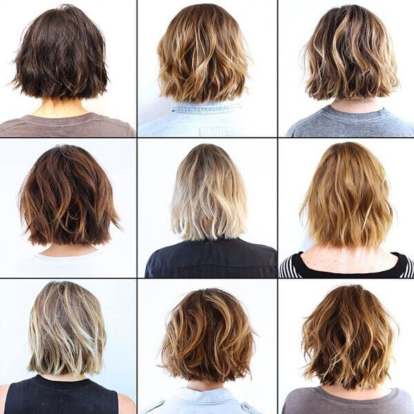 Waves Bob Hairstyle Ideas