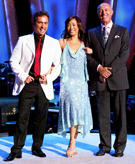 During the DWTS judge's first season, she styled herself!