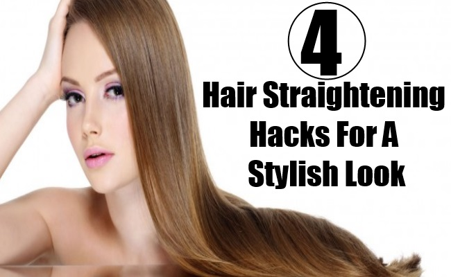 Hair Straightening Hacks For A Stylish Look