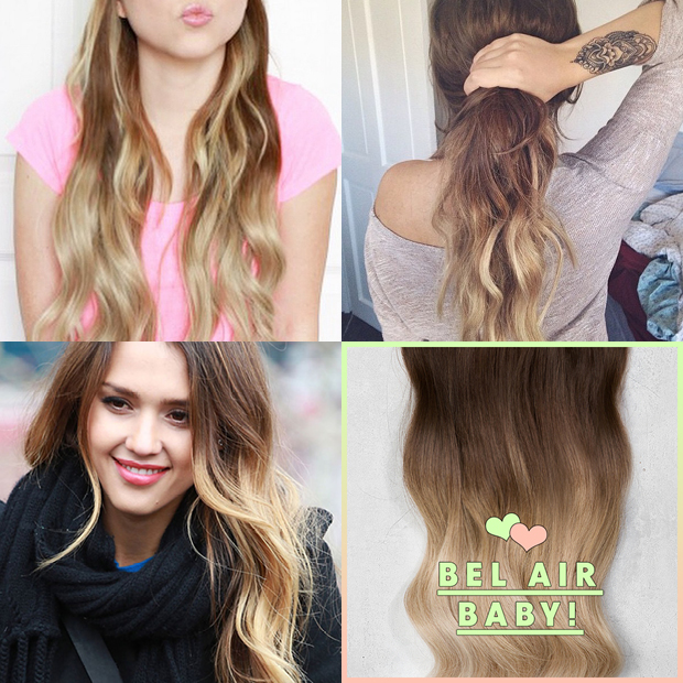 Bel Air Baby Dirty Looks Ombre Hair Extensions