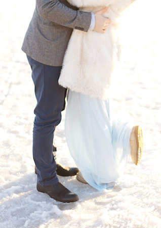 Powder blue wedding dress | Ann Imagines | see more on: http://burnettsboards.com/2015/05/love-story-pastels/