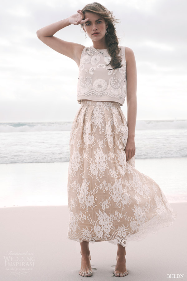 bhldn summer 2015 sleeveless lace ribbon topper kennedy skirt