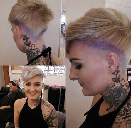 Stylish Short Pixie Haircut for Women