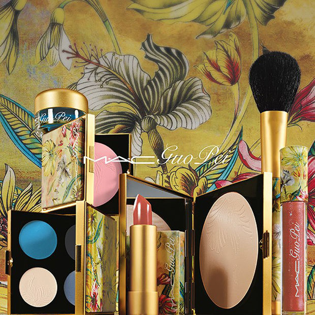 First look at the MAC x Guo Pei collection.