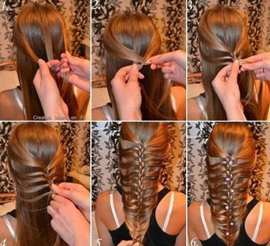 Lacey Braided Hairstyle