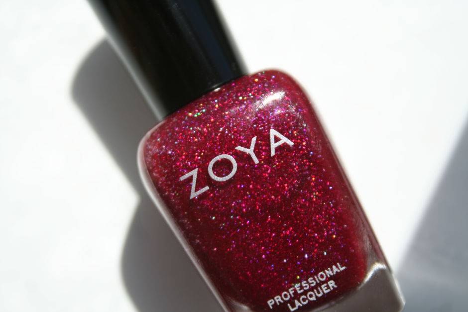 Zoya Professional Lacquer in Blaze.