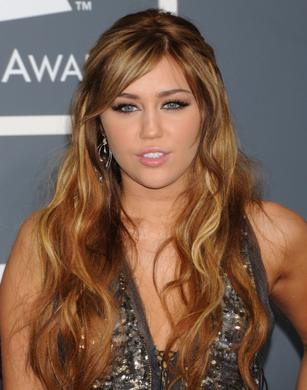 Miley Cyrus at the 2011 Grammy Awards.