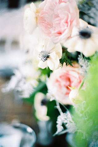 Peonies and anemones | Maria Levitska | see more on: http://burnettsboards.com/2015/05/cold-sea-shore-stormy-wedding-editorial/