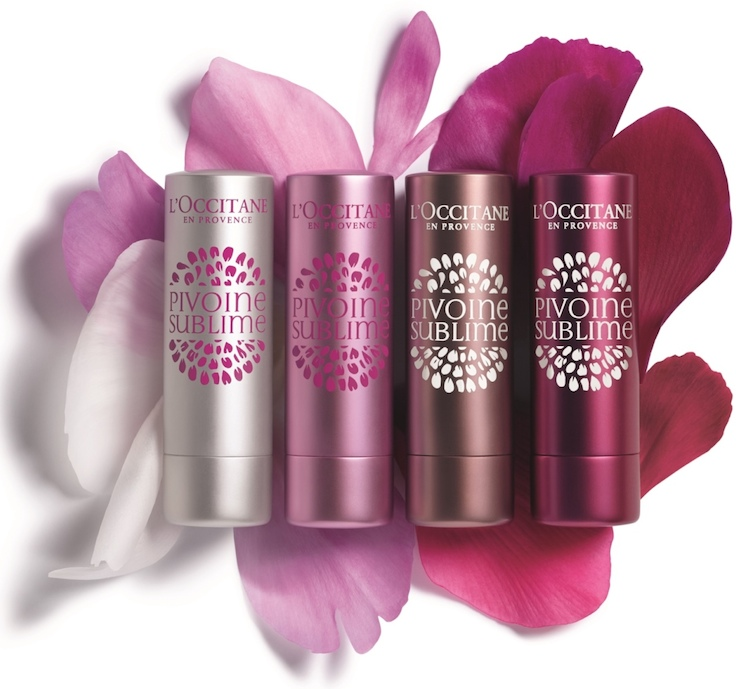 LOCCITANE-Pivoine-Sublime-Tinted-Lip-Balms