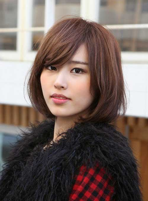 Bob Hairstyles with Fringe Bangs 2014