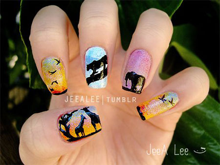 30 Best Cool Summer Nail Art Designs Ideas Trends Stickers 2015 16 30+ Best & Cool Summer Nail Art Designs, Ideas, Trends & Stickers 2015