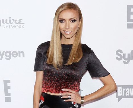 Giuliana Rancic at the 2015 NBCUniversal Cable Entertainment's upfronts on May 14 in New York City.