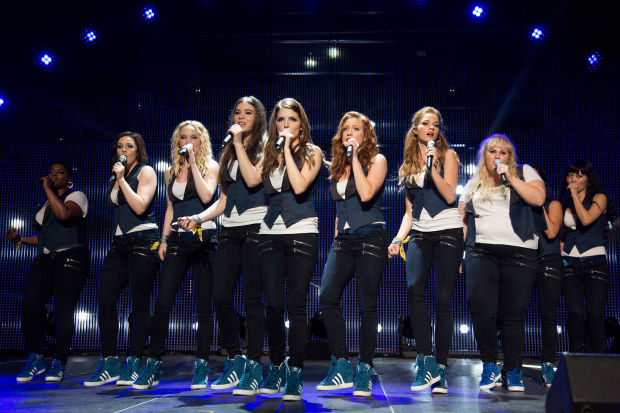 A Bellas performance scene from 'Pitch Perfect 2'.