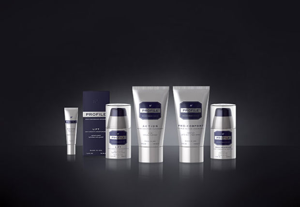 Rob Lowe's new skincare line, Profile 4 Men.