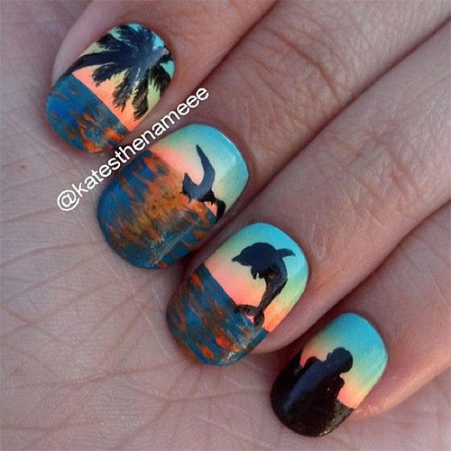 18 Beach Nail Art Designs Ideas Trends Stickers 2015 Summer Nails 17 18 Beach Nail Art Designs, Ideas, Trends & Stickers 2015 | Summer Nails