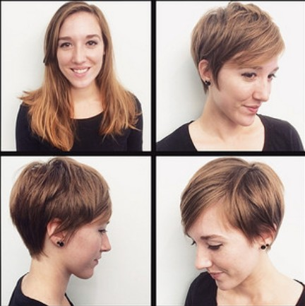 Cute Short Haircut for Fine Hair