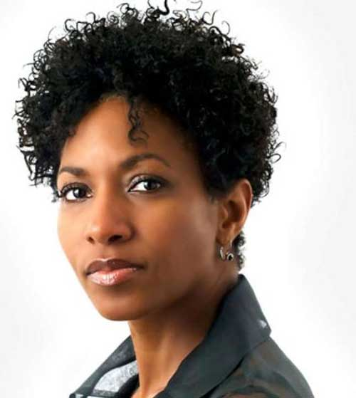 Short Natural Hairstyles For Black Women Over 50