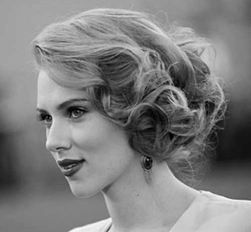 Scarlett Johansson Wedding Hairstyles Idea