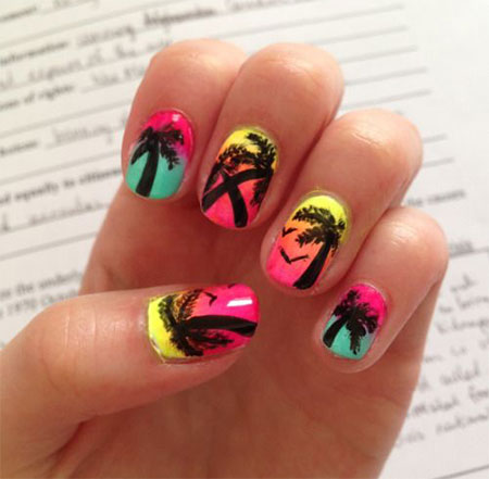 30 Best Cool Summer Nail Art Designs Ideas Trends Stickers 2015 17 30+ Best & Cool Summer Nail Art Designs, Ideas, Trends & Stickers 2015