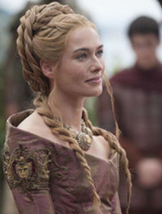 Cersei Lannister hairstyle
