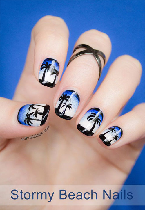 18 Beach Nail Art Designs Ideas Trends Stickers 2015 Summer Nails 13 18 Beach Nail Art Designs, Ideas, Trends & Stickers 2015 | Summer Nails