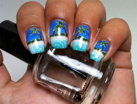 30 Best Cool Summer Nail Art Designs Ideas Trends Stickers 2015 5 30+ Best & Cool Summer Nail Art Designs, Ideas, Trends & Stickers 2015