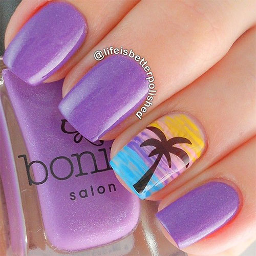 18 Beach Nail Art Designs Ideas Trends Stickers 2015 Summer Nails 8 18 Beach Nail Art Designs, Ideas, Trends & Stickers 2015 | Summer Nails