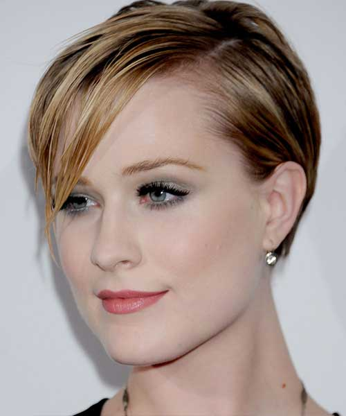 Evan Rachel Wood Short Hairstyles