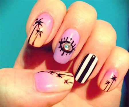 30 Best Cool Summer Nail Art Designs Ideas Trends Stickers 2015 19 30+ Best & Cool Summer Nail Art Designs, Ideas, Trends & Stickers 2015