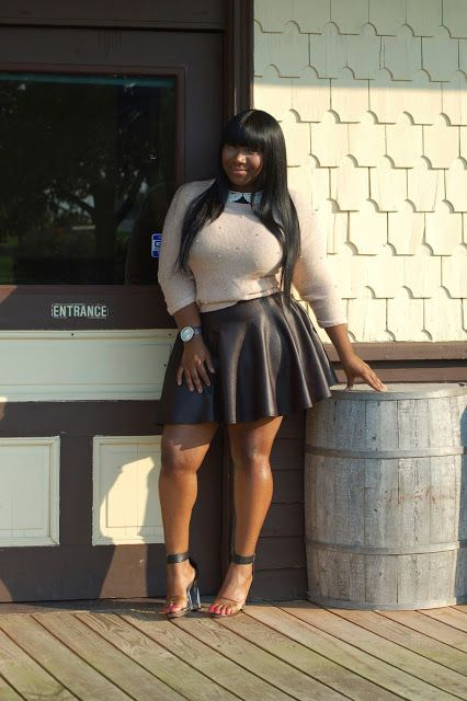 Plus size High School/ College Outfits (12)