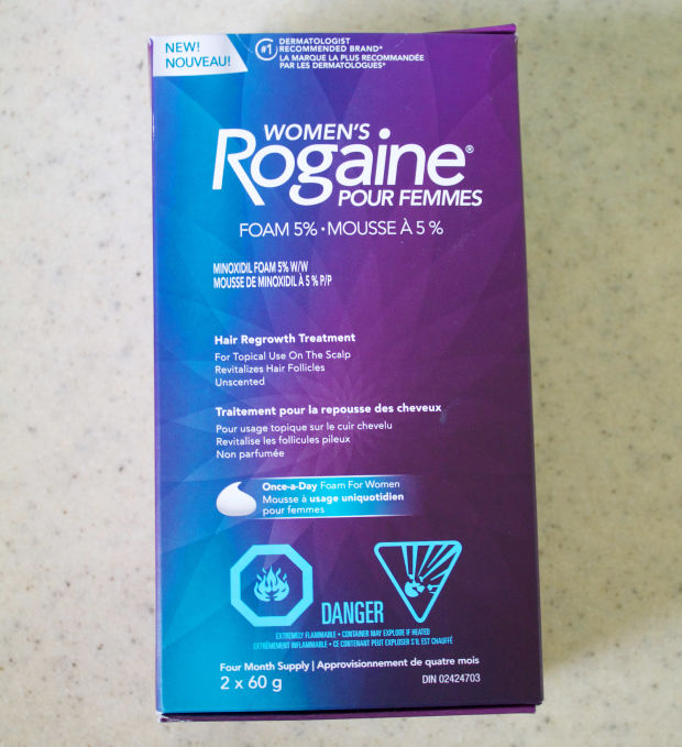Women's Rogaine is new to Canada.