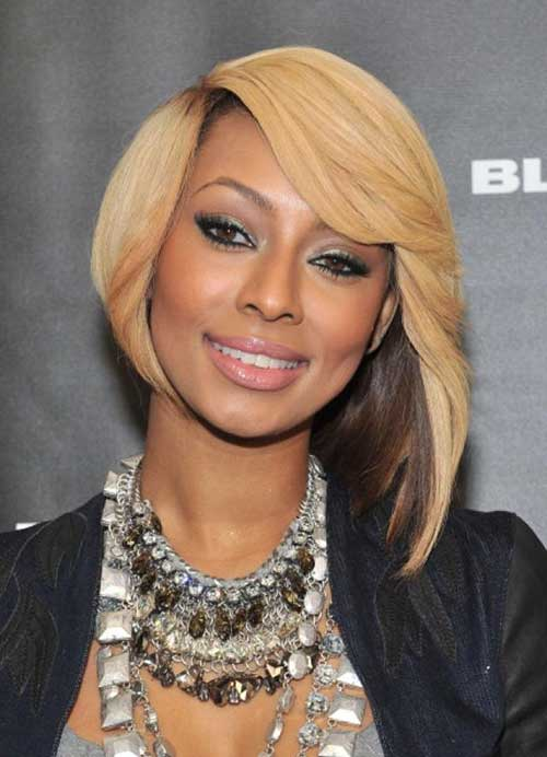 Keri Hilson Hairstyles for Round Faces