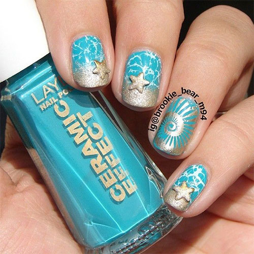 18 Beach Nail Art Designs Ideas Trends Stickers 2015 Summer Nails 7 18 Beach Nail Art Designs, Ideas, Trends & Stickers 2015 | Summer Nails