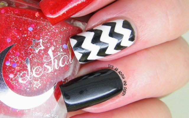 16 Zig-Zag Nail Art Designs To Try This Spring | Nail Design on