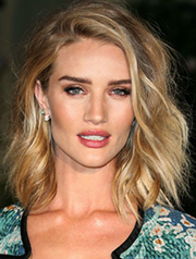 Rosie Huntington-Whiteley's tousled waves