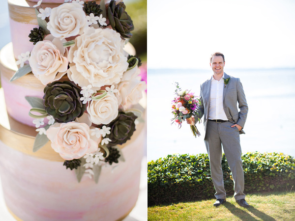 Seattle watercolor wedding editorial - photo by Samantha McFarlen http://ruffledblog.com/seattle-watercolor-wedding-editorial