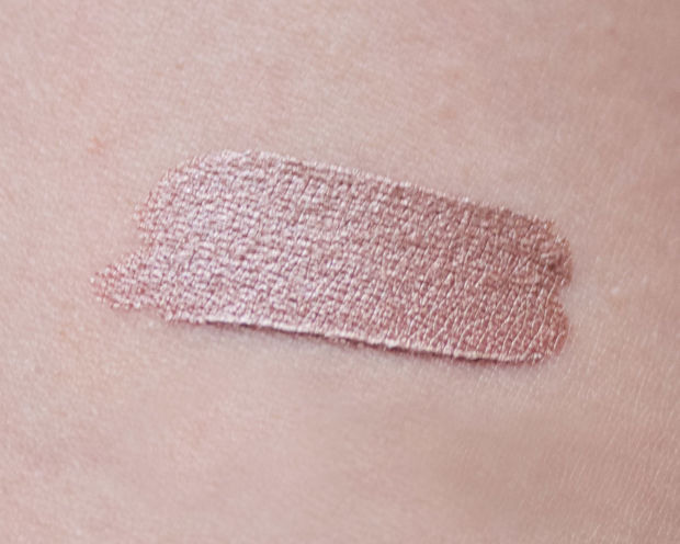 Swatch of Lush Cream Eyeshadow in Sophisticated.
