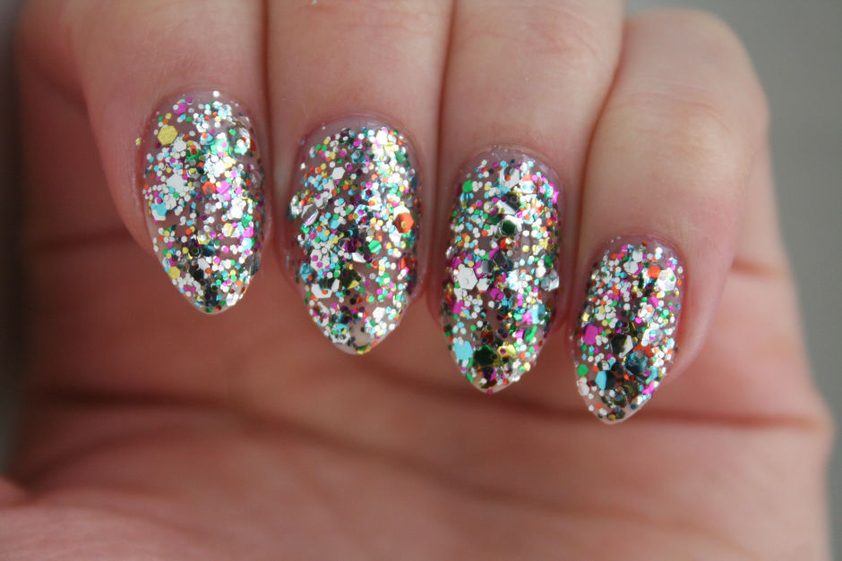 OPI Nail Lacquer in Chasing Rainbows.
