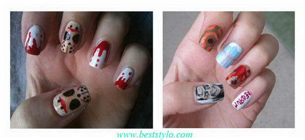 Crazy-Halloween-Nail-Art-Ideas