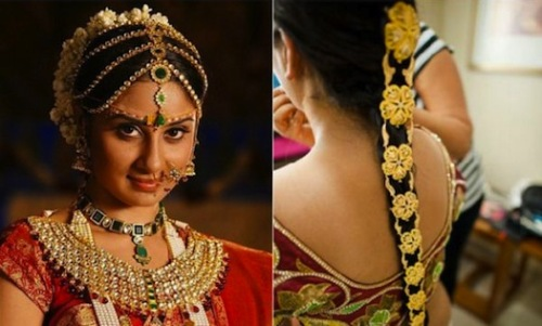 south indian bridal hairstyles.2
