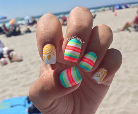 30 Best Cool Summer Nail Art Designs Ideas Trends Stickers 2015 14 30+ Best & Cool Summer Nail Art Designs, Ideas, Trends & Stickers 2015