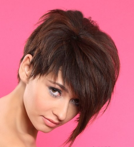 hairstyles For Short, Straight Hair7