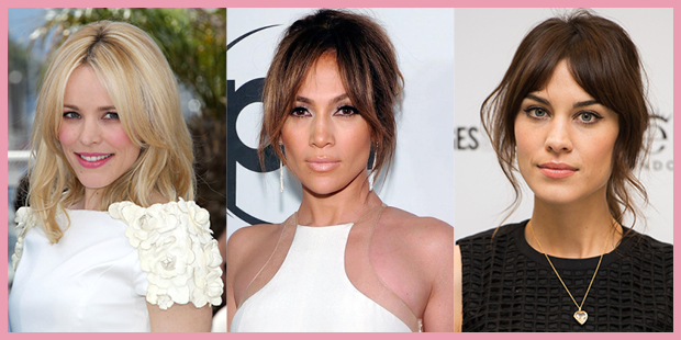 Celebrity Gringes - Celebrities with Grown Out Fringes